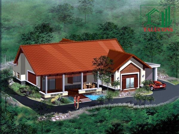 thiết kế kiến trúc và xây dựng nhà vườn đẹp