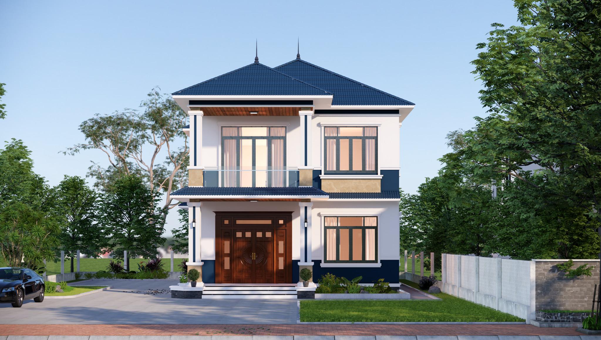 Một mẫu nhà được hoàn thiện bởi Thảo Lương Home