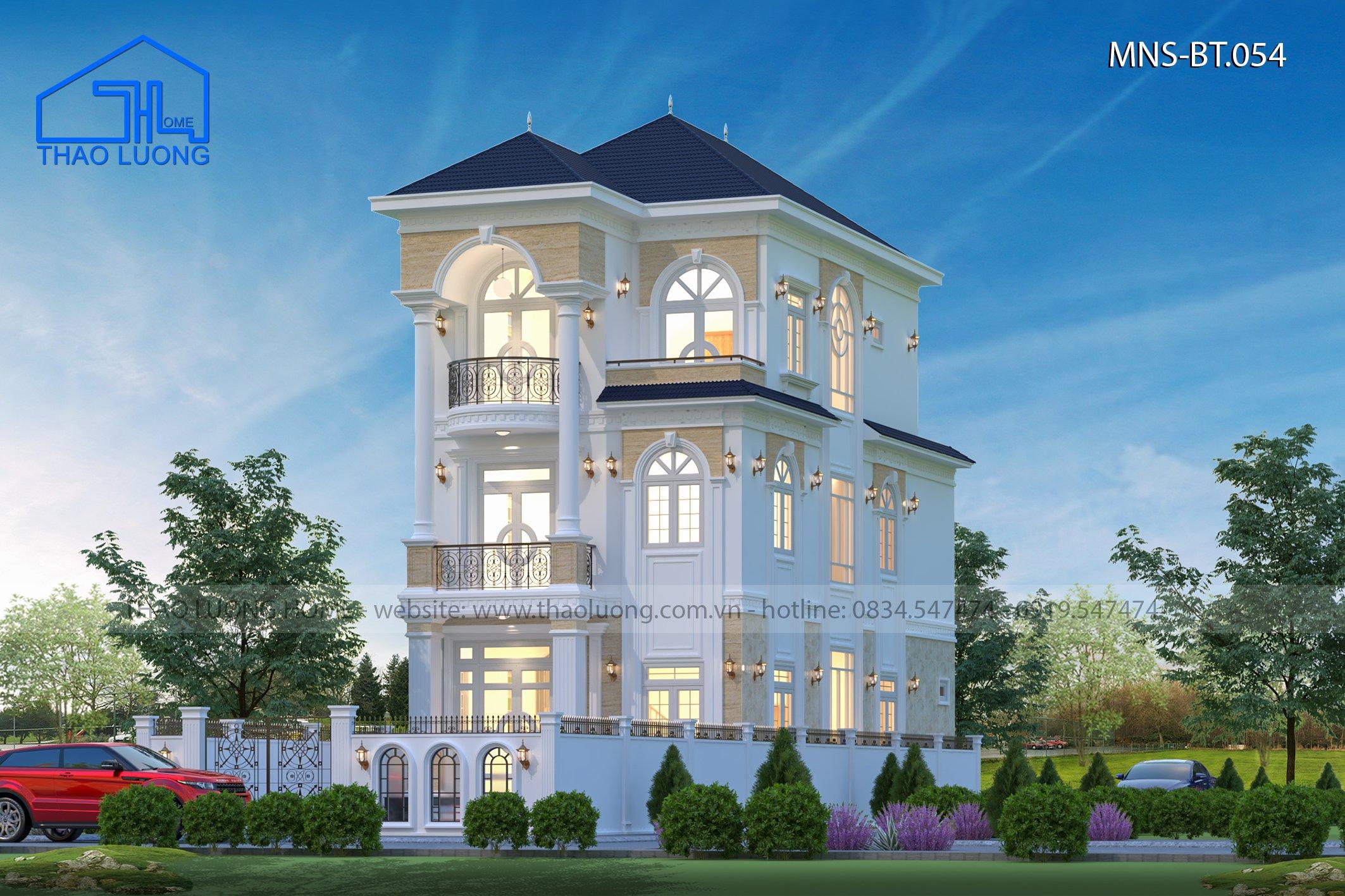Biệt thự nhà mái nhật 3 tầng- Thảo Lương Home